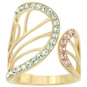 Authentic Swarovski Butterfly Wing Ring